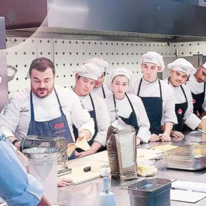 cooking classes in Alba by starred chef Larossa