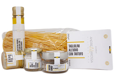 sale of typical Alba products